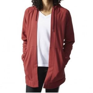 Adidas Open Cover-Up Lounge Hoodie